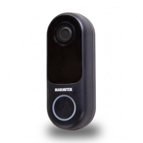 Marmitek 08501 BUZZ LO Smart Wi-Fi видео звънец 1080p с детектор за движение и запис