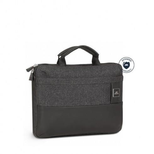 """RIVACASE 8823 Чанта за лаптоп с твърдо дъно 13.3"""", черна"""