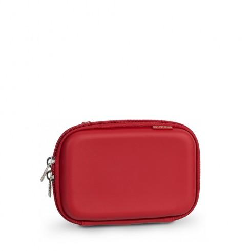RIVACASE 9101 (PU) HDD 2,5 инча предпазна кутия/чанта за твърд диск (Hard Disk), червена