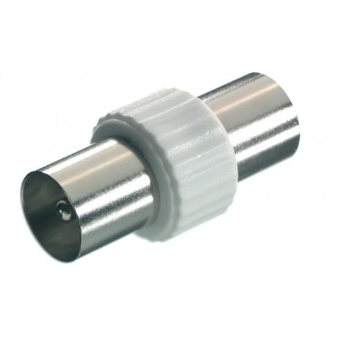 Vivanco 48003 Преходник за коаксиални кабели M<->M