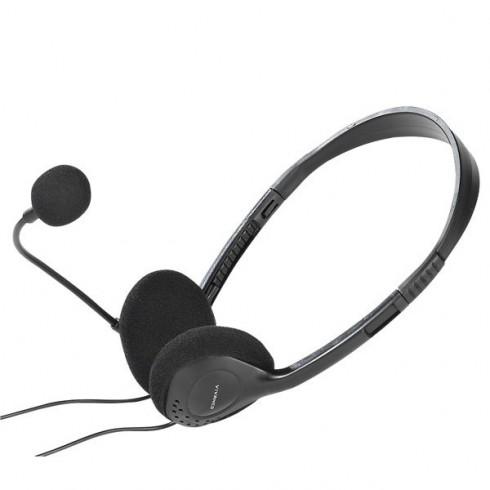 Vivanco 36651 Ултра леки стерео слушалки с микрофон.
