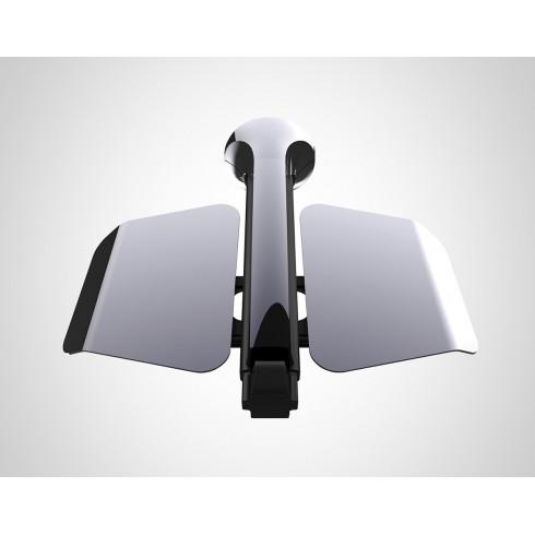 Major LIFT Моторизирана сгъваема стойка от таван за LED/LCD/Plasma екрани с дистанционно управление, с възможност за регулиране на височината до 68 см