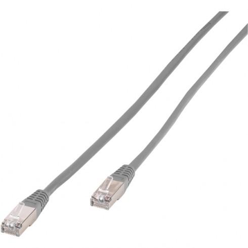 Vivanco 20237 Мрежов кабел CAT.5e  RJ45/RJ45, 1m