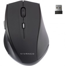Vivanco 39633 Bluetooth мишка, Silent click, 3 бутона, 1000 dpi