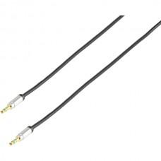 Vivanco 41200 Premium 3.5мм аудио кабел за връзка, стерео, 1.2m