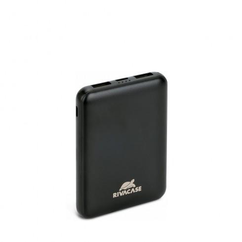 RIVACASE VA2405 Преносима акумулаторна батерия 5000mAh ,черна