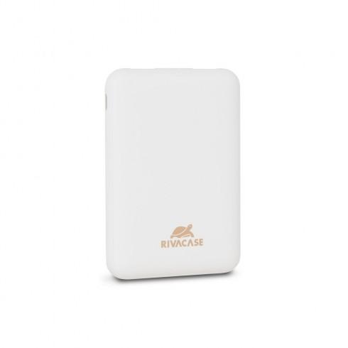 RIVACASE VA2405 Преносима акумулаторна батерия 5000mAh,бяла