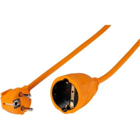 Vivanco 61158 Schuko удължител, оранжев 10м