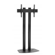 """Стойка от земя за екрани над 65"""", до 160 кг, VESA 800x400, две тръби 150 см, черно"""
