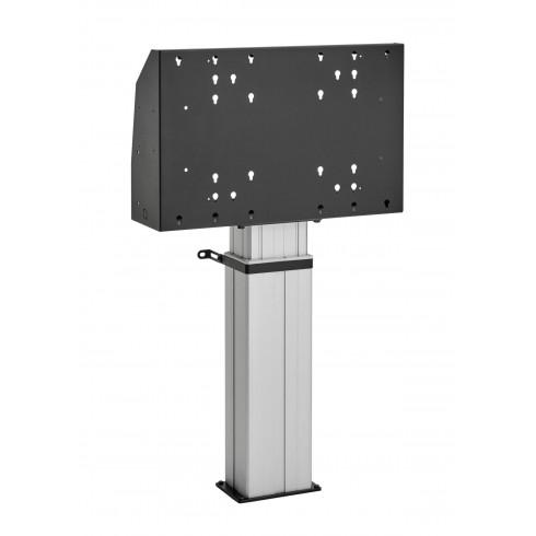 """Електрическа стойка фиксирана към пода, за екрани 40""""-90"""", ход издигане 50см, VESA 600x400, до 150 кг"""