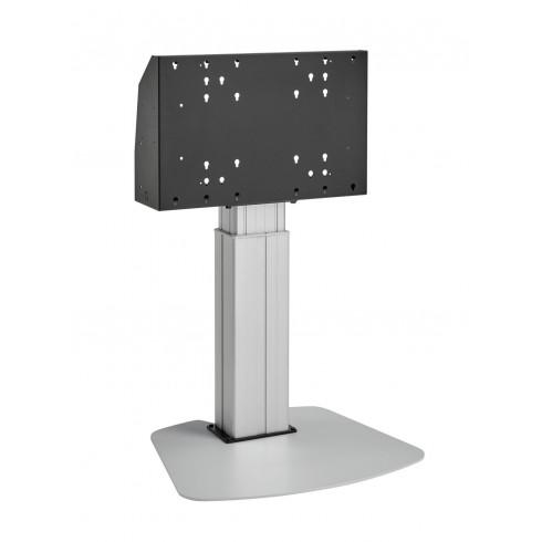 """Електрическа стойка от земя, за екрани 40""""-90"""", ход издигане 60см, VESA 600x400, до 120 кг"""