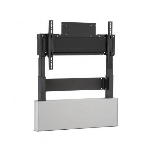 """Електрическа стойка за стена, за екрани 42""""-86"""", ход издигане 65см, VESA 600x400, до 160 кг"""