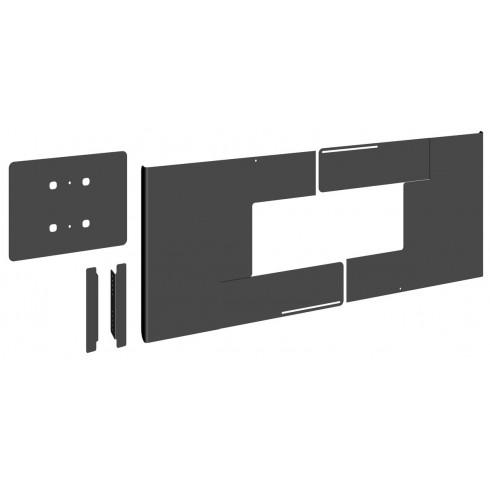 """Vogel's PFA 9159-Универсален заден капак за скриване на кабели за хоризонтален монтаж на дисплеи от 65"""" до 70"""""""