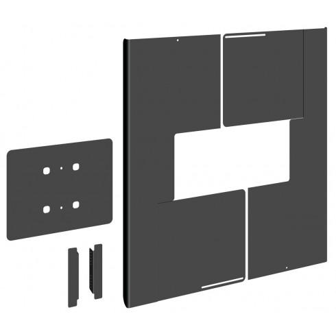 """Vogel's PFA 9164-Универсален заден капак за скриване на кабели за вертикален монтаж на дисплеи от 84"""" до 86"""""""
